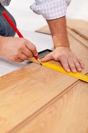 measuring laminate flooring plancks stock photo lightkeeper