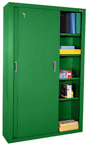 Sliding Door Storage Cabinet by Medical Office Supplies