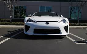 lexus lfa buy usa lexus bids farewell to lfa delivers last u s market lfa to owner