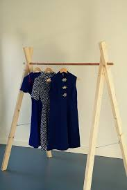 simple and practical clothing racks for casual decors casual