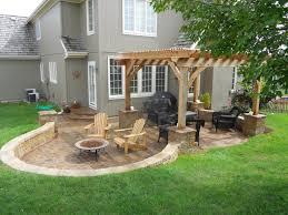 patio design ideas for small backyards kitchen island on stone
