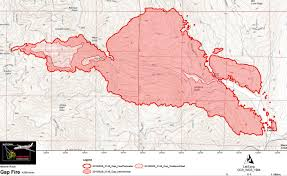 Ca Wildfire Map 2014 by Update 9 30 A M Gap Fire North Of Happy Camp Exploded Yesterday