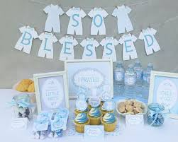 christening party favors lds baby boy blessing party printable set or christening party