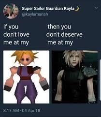 Final Fantasy Memes - final fantasy vii memes tumblr
