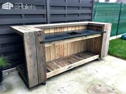 how to build an outdoor kitchen island diy outdoor kitchen pallet outdoor kitchen bar pallet bars build