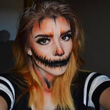 pumpkin makeup ideas for halloween popsugar beauty uk
