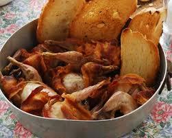 comment cuisiner une becasse recette bécasse rôtie au lard facile rapide