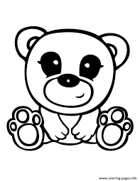 squinkies cute teddy bear coloring pages printable