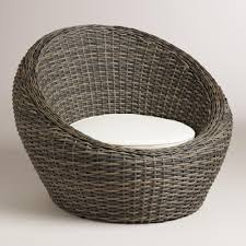 Christopher Knight Home Swinging Egg Outdoor Wicker Chair by Egg Wicker Chairs Outdoor Outdoor Designs