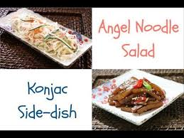 konjac cuisine food 2 side dishes low calorie ingredients