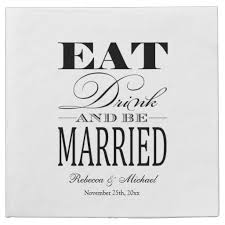 wedding venue taglines 18 best paper napkins at zazzle images on wedding