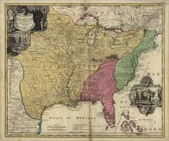 A Map Of Pennsylvania by Map Of The United States In 1700 Welcome 1720 U0027s Pennsylvania