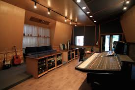 there are a number of different recording rooms and fantastic