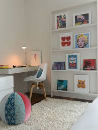 bedroom with modern furniture and pop art decor decorating your