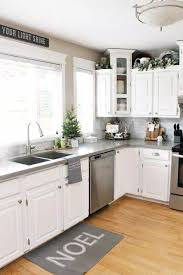 kitchen top cabinets decor 11 easy affordable kitchen decor ideas