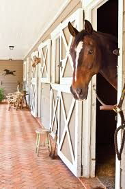 horse kitchen curtains horse stable turned cottage southern living