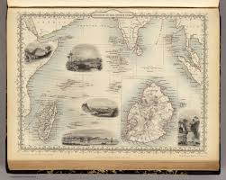 Indian Ocean Map Islands In The Indian Ocean With Inset Map Of Mauritius David