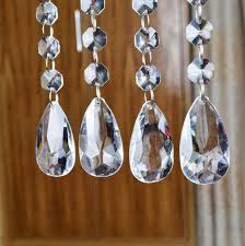 Acrylic Crystal Chandelier Drops by Amazon Com Acrylic Crystal Bead Hanging Strand Manzanita Trees
