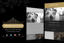 wedding invitation email template builder access by theemon on