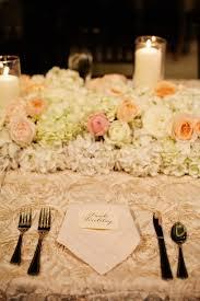 hydrangea and rose floral table runner elizabeth anne designs