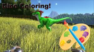 ark survival evolved how to paint color dinos on xbox one admin
