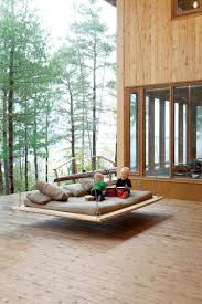 outdoor floating bed nap swing in vacation home architecture pinterest swings