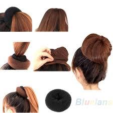 donut bun hair 2016 hair donut bun ring shaper roller styler maker brown black