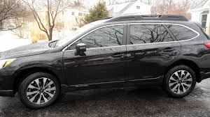 subaru outback black 2015 window tints still need dimming exterior mirror subaru