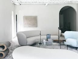 massproductions dandy 4 seater sofa and armchair scandinavian