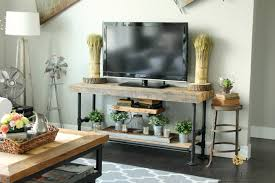 reclaimed wood u0026 black pipe tv stand what rose knows