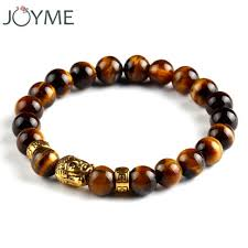 religious bracelets mens beaded 8mm lava gallstone buddha buddhist