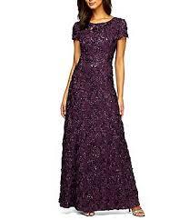 purple dresses for weddings purple women s dresses gowns dillards