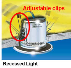installing can lights in ceiling installation how can i install a recessed light container in an