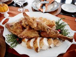 crispy truffled turkey recipe giada de laurentiis food network