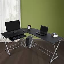 grand bureau blanc grand bureau d angle table informatique meuble ordinateur achat 10