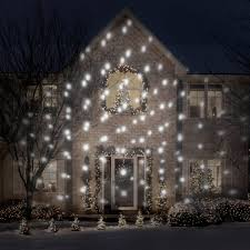 christmas christmas white led projection outdoor