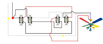 wiring diagrams 3 way led dimmer switch 4 way dimmer 3 switch