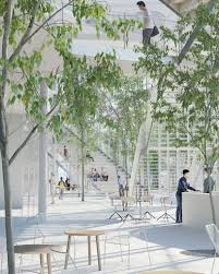 designboom green school sou fujimoto to build learning center at ecole polytechnique