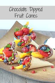 White Chocolate Covered Strawberries Kids Chocolate Dipped Fruit Cones Fruit Cones Fussy Eaters And Dips