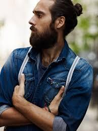 bearded christian göran in blue jeans denim shirt july 2014 http