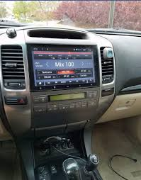 lexus is aftermarket navigation head unit replacing oem nav with non nav climate controls and aftermarket