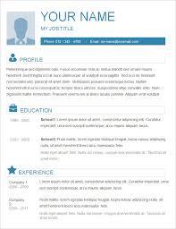 simple c v format sample resume basic template gfyorkcom simple resume templates canva
