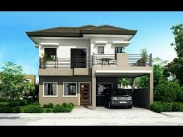 50 Best Two Story Modern House Designs In The Philippines  YouTube