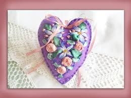 how to embroider a silk ribbon flower felt heart youtube