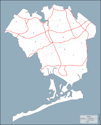Map Of Queens New York by Queens County Free Map Free Blank Map Free Outline Map Free