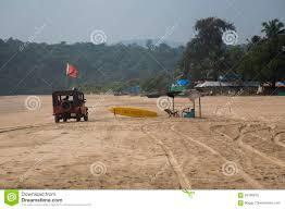 beach jeep surf agonda beach goa india editorial image image of lifesaver