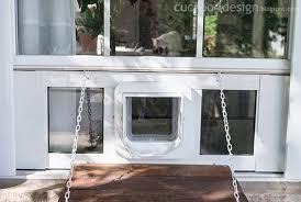 Interior Pet Door For Cats Custom Electronic Pet Door Contraption Cuckoo4design