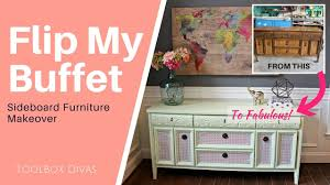 Pink Tool Box Dresser by Furniture Flip Painting An Old Buffet Cabinet Youtube
