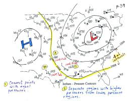 Surface Weather Map Tue Oct 1 Notes