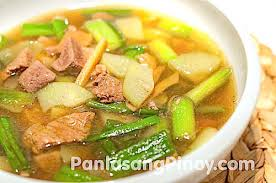 bas cuisine bas uy recipe pork and liver soup with lemongrass and chayote